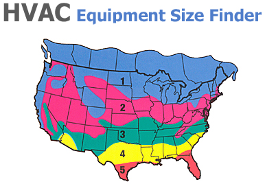 hvac equipment size finder - cypress air conditioning repair